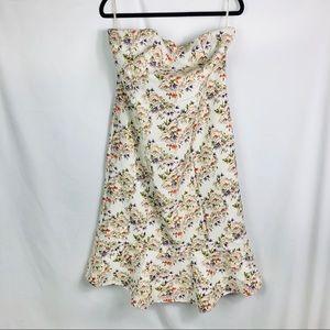 Eva Mendes Ny & Co Strapless Ivy Dress size 18